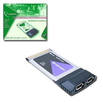 Pcmcia Fw2 Pcmcia Karta 2x Firewire Porty Cardbus 32bit 2x