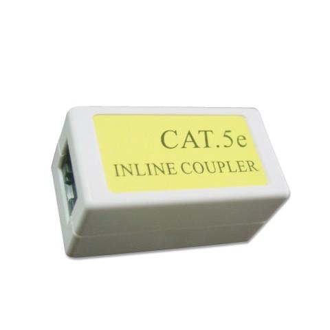 Network Passive  CONNECTOR  Cat. 5E LAN coupler, white color (NCA-LC5E-001)