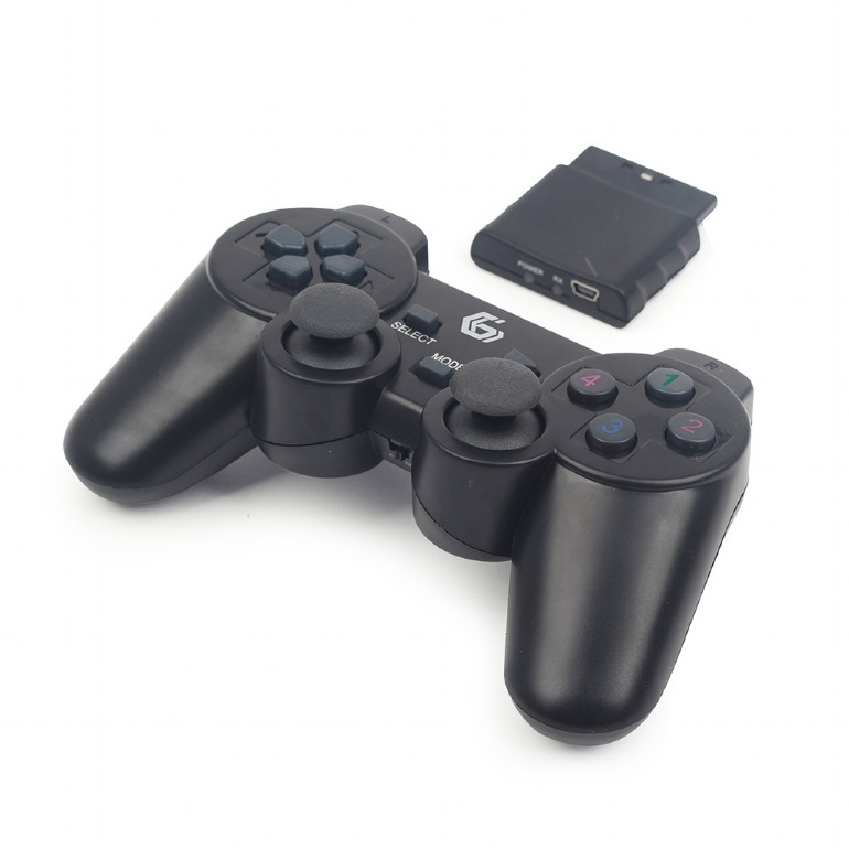 Wireless dual vibration gamepad, PS2/ PS3 / PC (JPD-WDV-01)